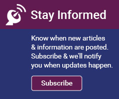 Subscribe & Stay Informed